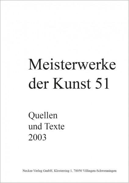 Quellen und Texte 51/2003