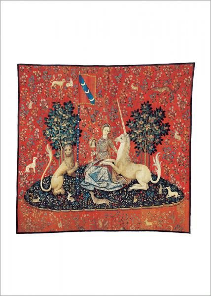Bildteppich-Zyklus: Die Dame mit dem Einhorn