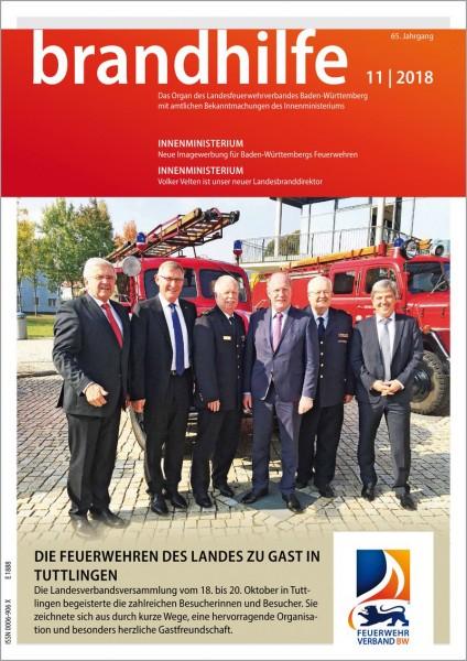 Brandhilfe Baden-Württemberg 11/2018