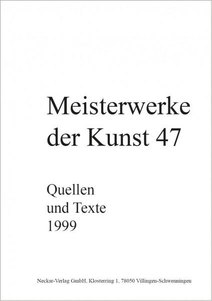 Quellen und Texte 47/1999