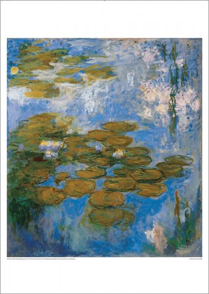 Kunstdruck Monet - Nymphéas