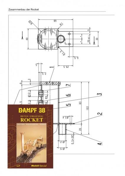 Bauplan Rocket