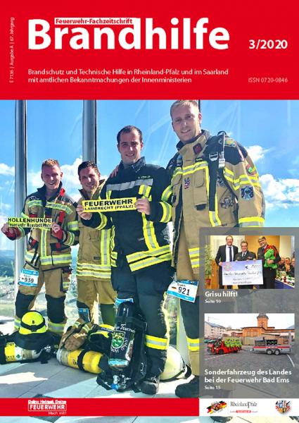 Brandhilfe Rheinland-Pfalz/Saarland 3/2020