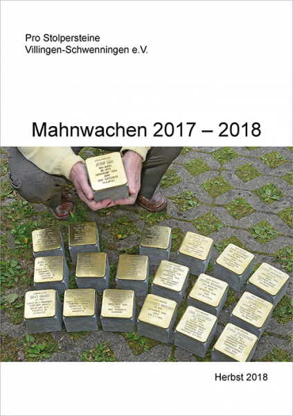 Mahnwachen 2017 - 2018