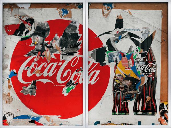 Kunstdruck Vostell - Coca-Cola
