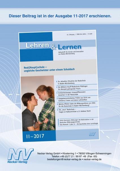 "Die ""neue"" Realschule – Fragen an Kultusminister a. D. Andreas Stoch"