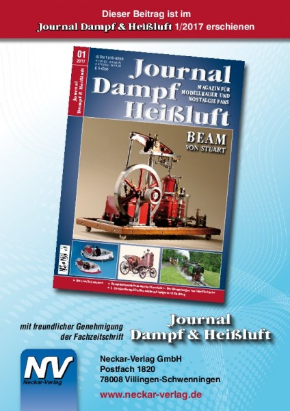 Download aus Journal Dampf & Heißluft 1/2017