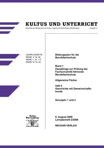 LPH 2/2008 - Geschichte und Gemeinschaftskunde