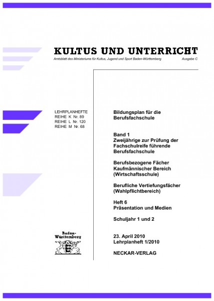 LPH 2/2008 - Präsentation und Medien