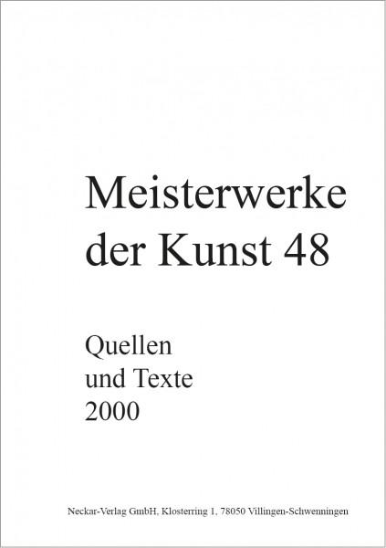 Quellen und Texte 48/2000