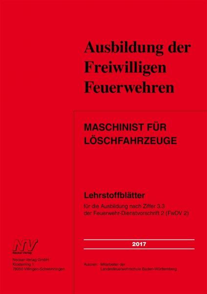 Maschinist für Löschfahrzeuge Baden-Württemberg