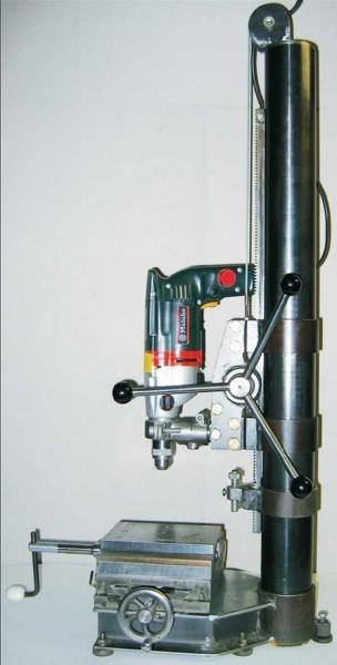 Bauplan Bohrmaschinenständer