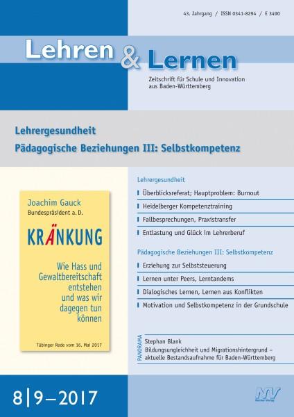 Lehren & Lernen Nr. 8-9/2017