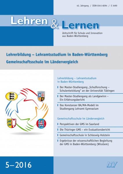 Lehren & Lernen Nr. 5/2016