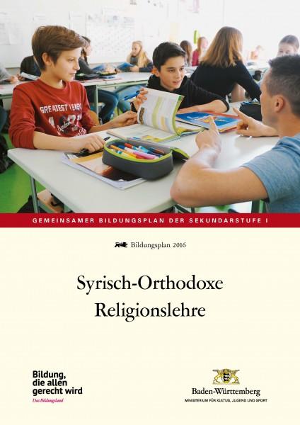 LPH 2/2016 Bildungsplan - Syrisch-Orthodoxe Religionslehre