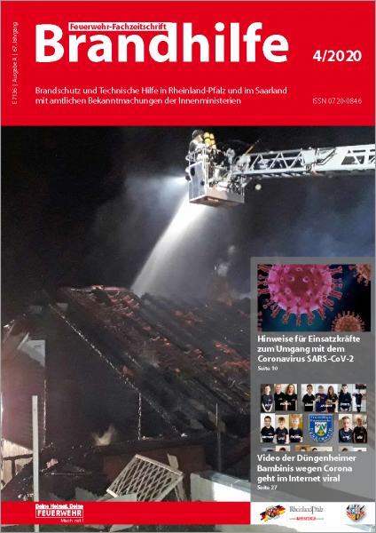 Brandhilfe Rheinland-Pfalz / Saarland 4/2020