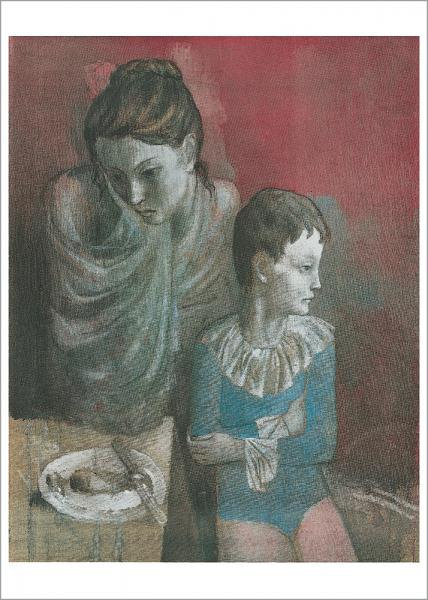 Kunstdruck Picasso - Artisten