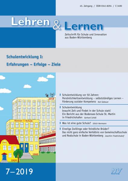 Lehren & Lernen 7/2019
