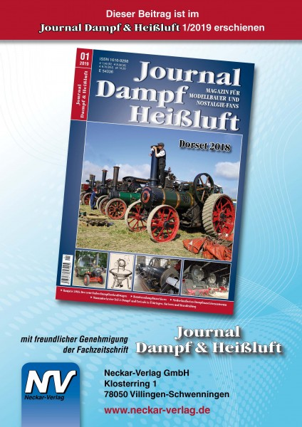 Rotationsmaschinen - Die ganz anderen Dampfmaschinen