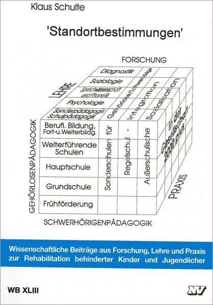 WB XLIII: Standortbestimmungen