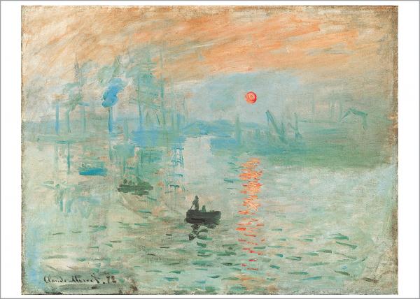 Kunstdruck Monet - Impression soleil levant