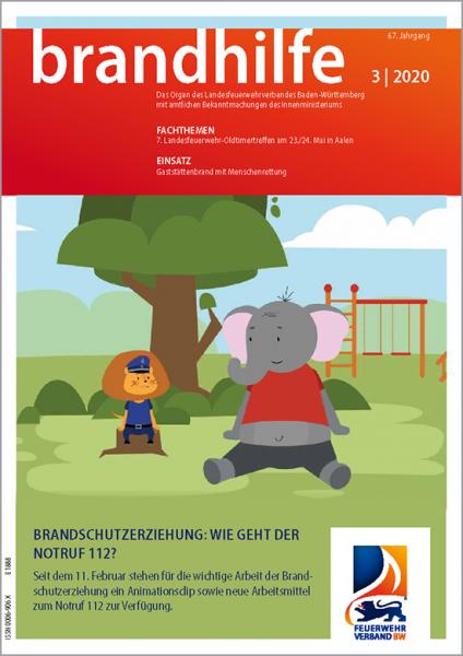 Brandhilfe Baden-Württemberg 3/2020