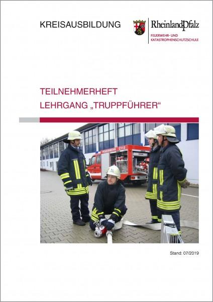 """Teilnehmerheft Lehrgang """"Truppführer"""" Rheinland-Pfalz"""