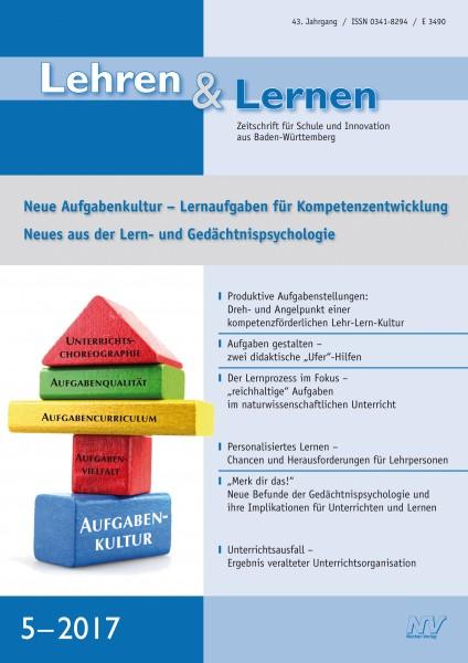 Lehren & Lernen Nr. 5/2017