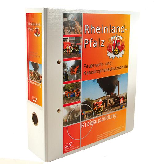 Ordner für Teilnehmerhefte Rheinland-Pfalz (ohne Inhalt)