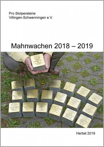 Mahnwachen 2018 - 2019
