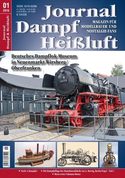 Journal Dampf & Heißluft 1/2016