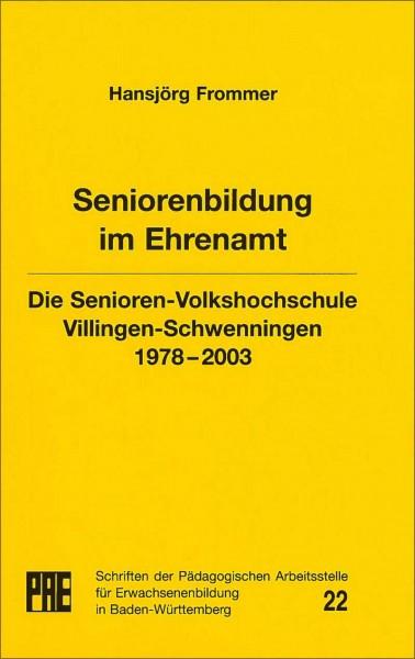 PAE 22 - Seniorenbildung im Ehrenamt