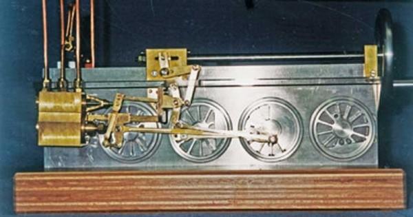 Bauplan Ein Dampftriebwerk