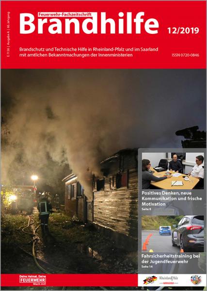 Brandhilfe Rheinland-Pfalz / Saarland 12/2019