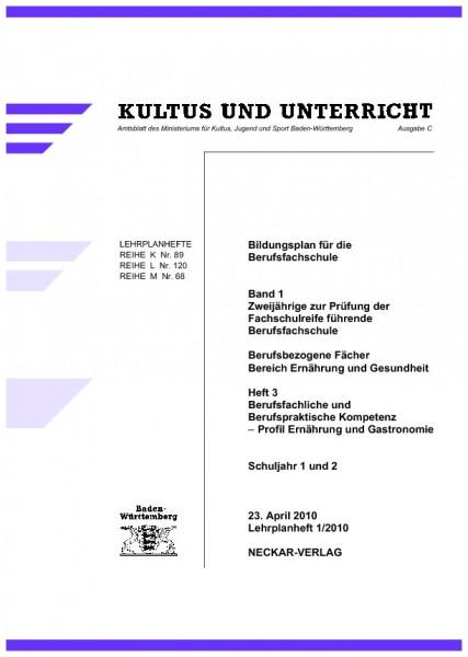 LPH 1/2010 - Ernährung und Gastronomie