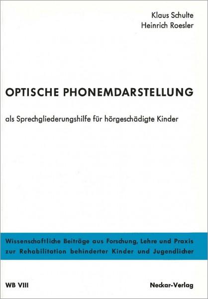WB VIII: Optische Phonemdarstellung