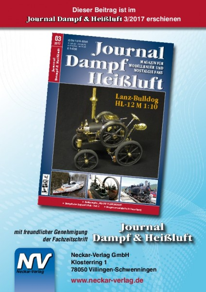 Download aus Journal Dampf & Heißluft 3/2017