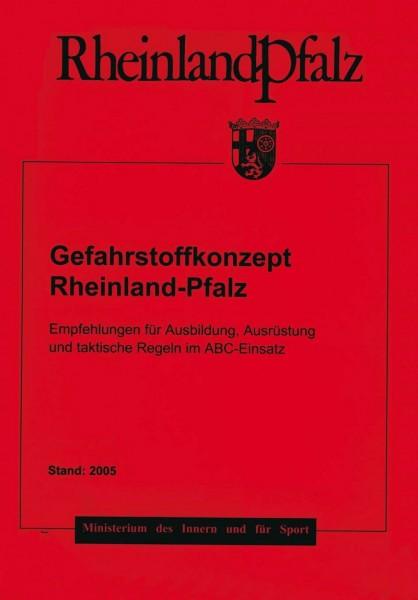 Gefahrstoffkonzept Rheinland-Pfalz