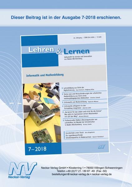 """Quo vadis@bw? Ein Zwischenruf zur """"Elektronischen Lehr- und Lernassistenz (ella)"""" für Schulen in Baden-Württemberg"""