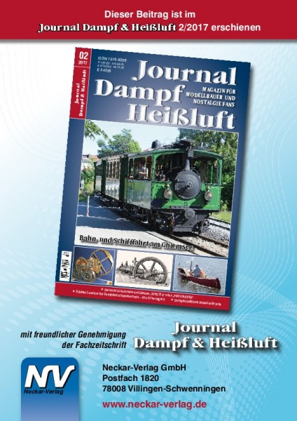 Download aus Journald Dampf & Heißluft 2/2017