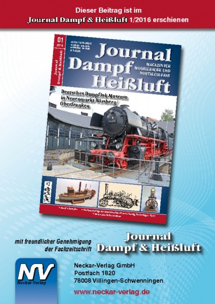 Download aus Journal Dampf & Heißluft 1/2016