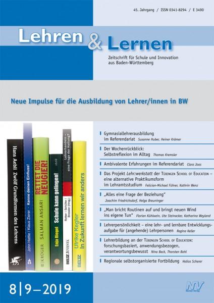Lehren & Lernen 8-9/2019