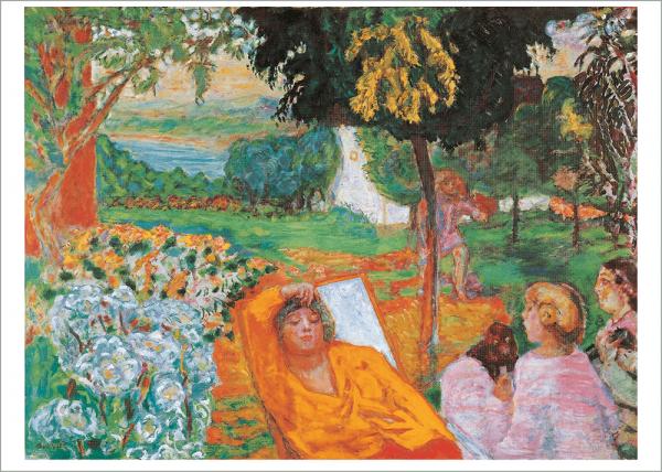 Kunstdruck: Bonnard, In einem südlichen Garten