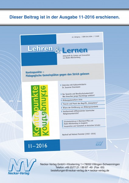 Schulsystementwicklungen in Rheinland-Pfalz und Baden-Württemberg