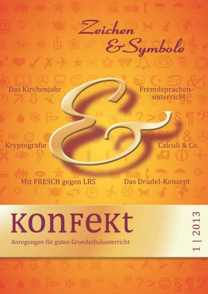 Zeichen und Symbole– Konfekt 1/2013