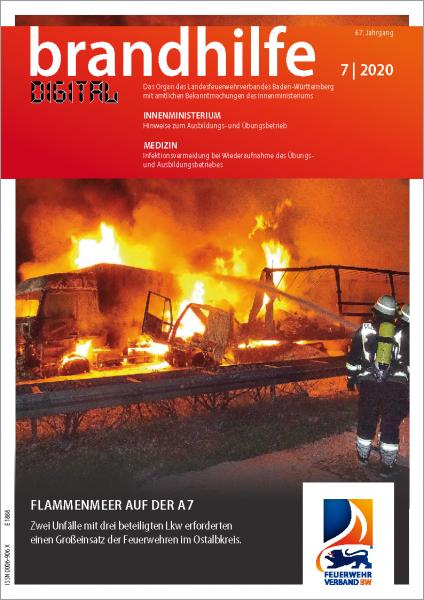 Brandhilfe Baden-Württemberg 7/2020 digital
