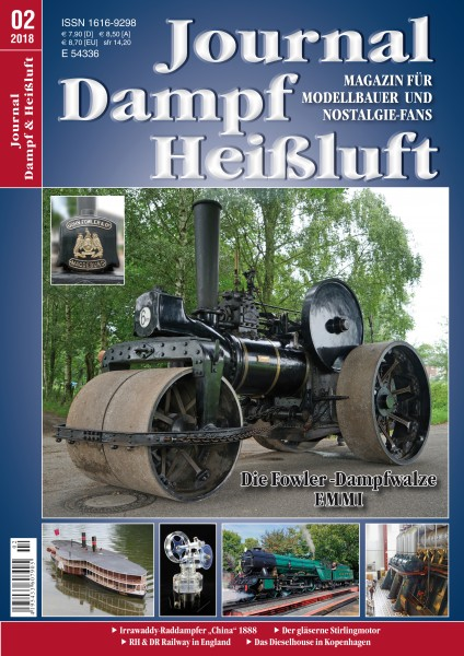 Journal Dampf-Heißluft 2/2018