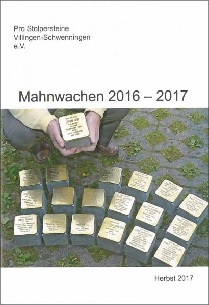 Mahnwachen 2016 - 2017