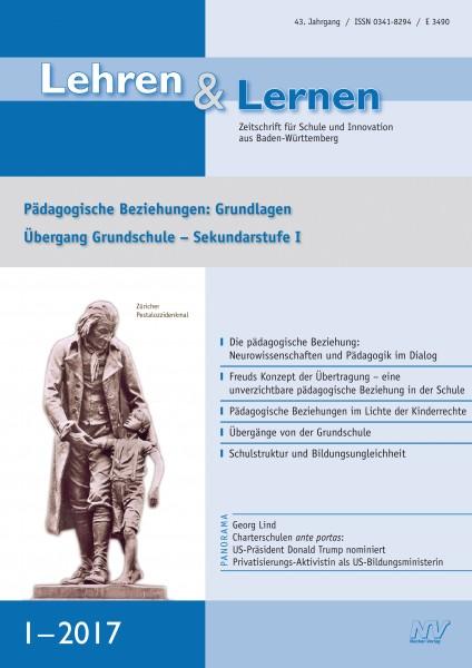"""Lehren & Lernen Studienpaket """"Pädagogische Beziehungen"""""""