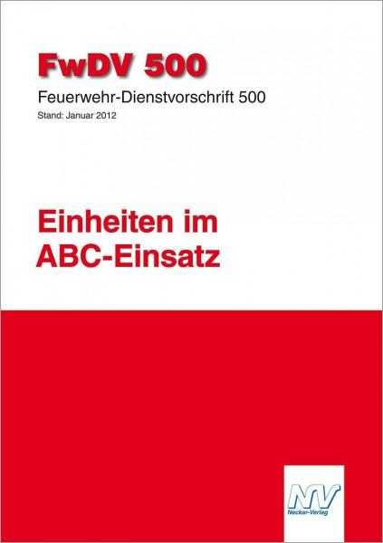 Feuerwehr-Dienstvorschrift 500 (FwDV 500)